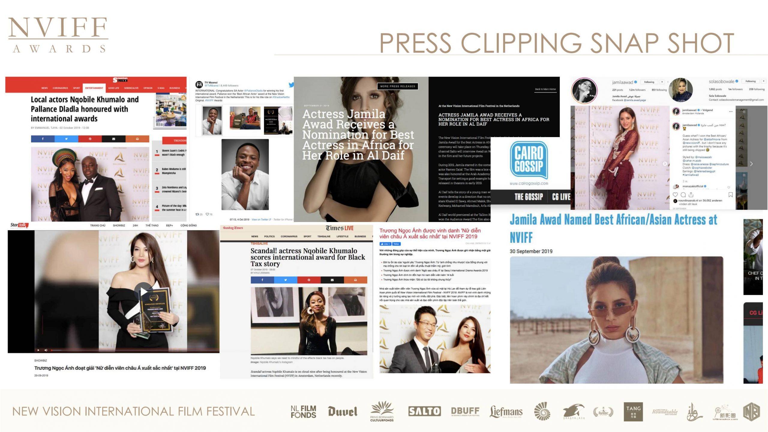 荷兰新视野国际电影节携手全球合作伙伴「唐界传媒」共助影业发展